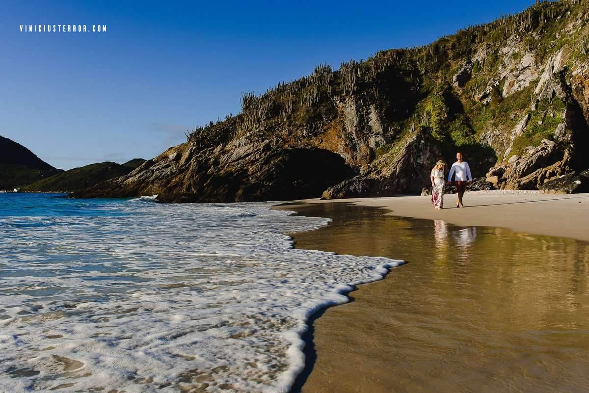 ensaio de noivos na praia