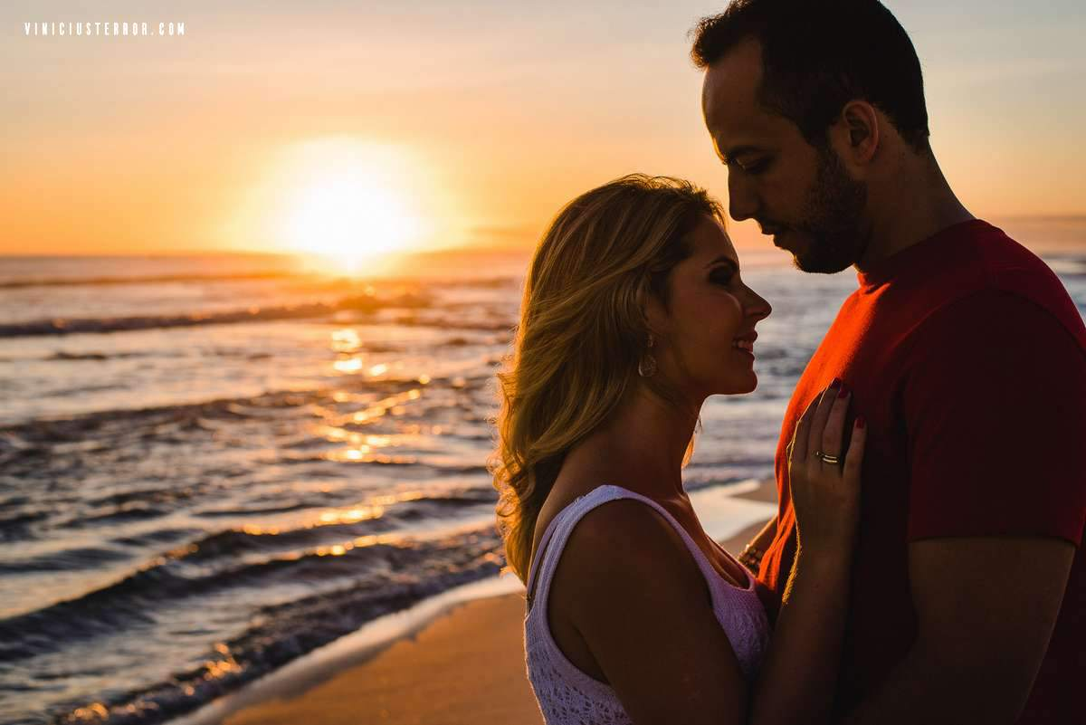pre wedding com por do sol