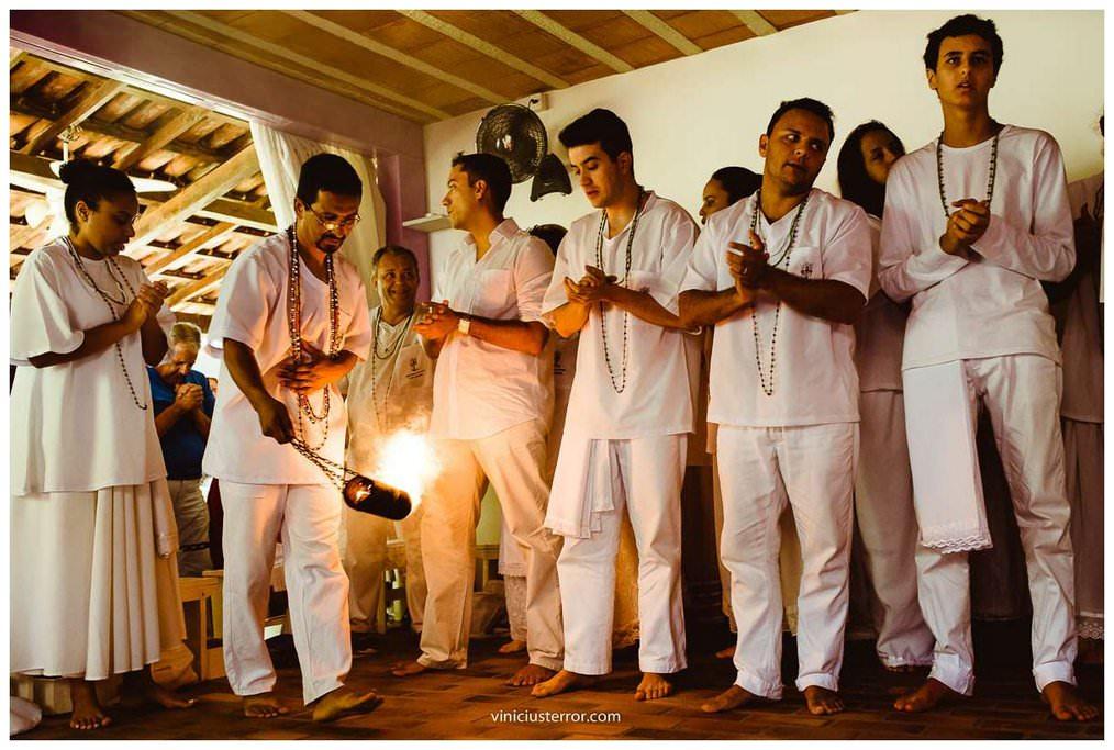 rituais de uma cerimonia de casamento umbandista