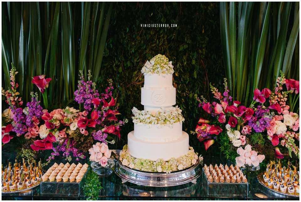 mesa de bolo casamento espaço provincia bh