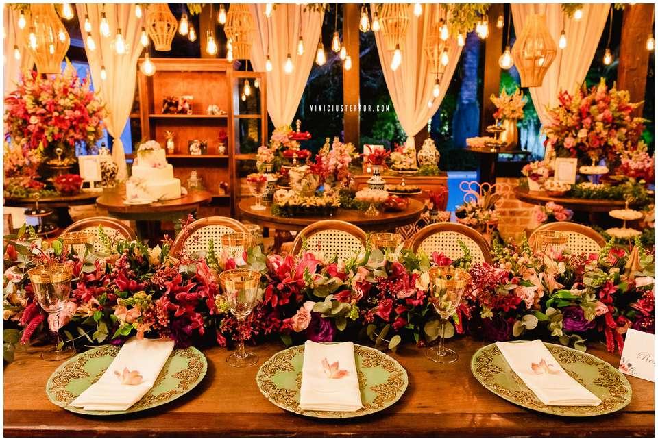 fotos de decoração para casamentos chacara chiari bh